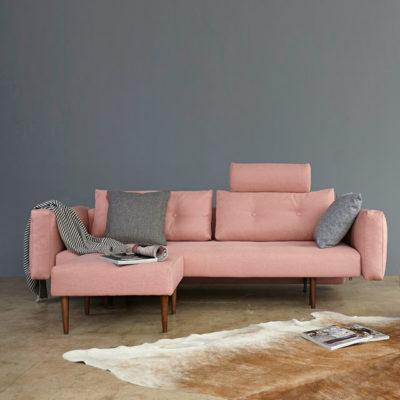 Recast-sofa-with-cushion-arms-soft-coral