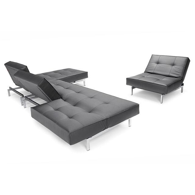 de splitback sofa van innovation living is een ontwerp van per weiss. Black Bedroom Furniture Sets. Home Design Ideas