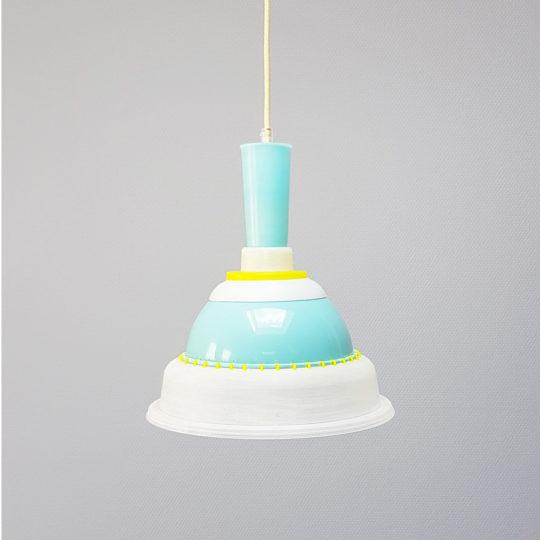 Tupperware Upcycle lamp licht uit