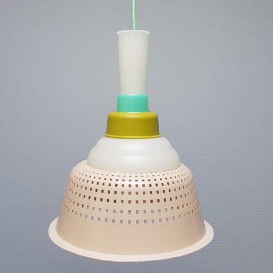 Tupperware Upcycle lamp uit