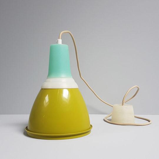 Tupperware Upcycle lamp mosgroen compleet