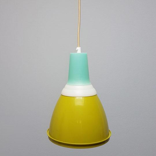 Tupperware Upcycle lamp mosgroen uit