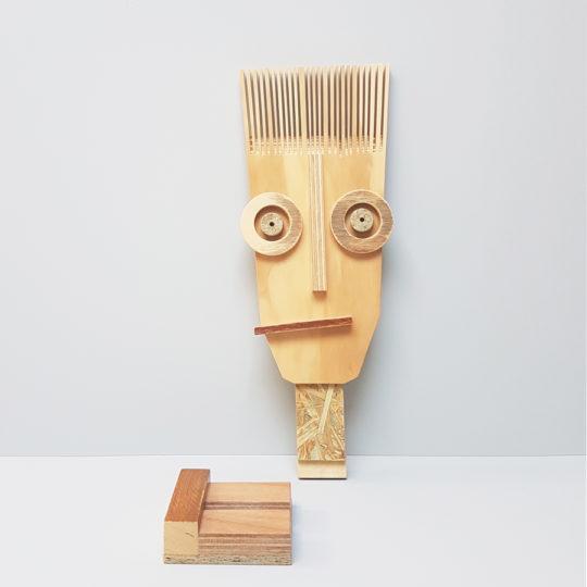 masker spiky