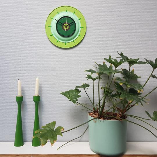 klok groen